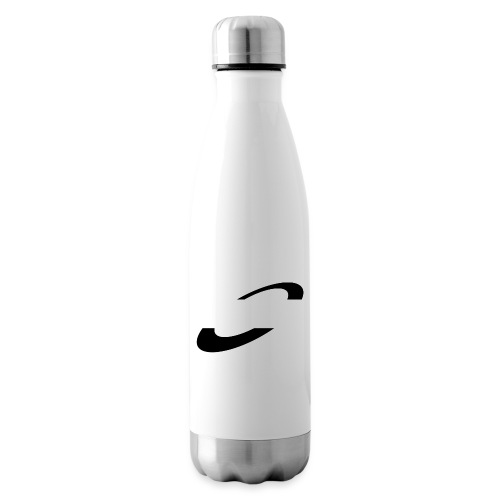 Planet Cycling Icon Black - Insulated Water Bottle