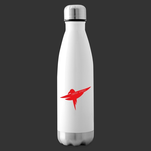 Raven Red - Insulated Water Bottle