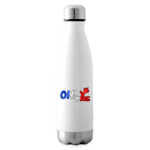 Logo ONLY KING edition francaise - Bouteille isotherme