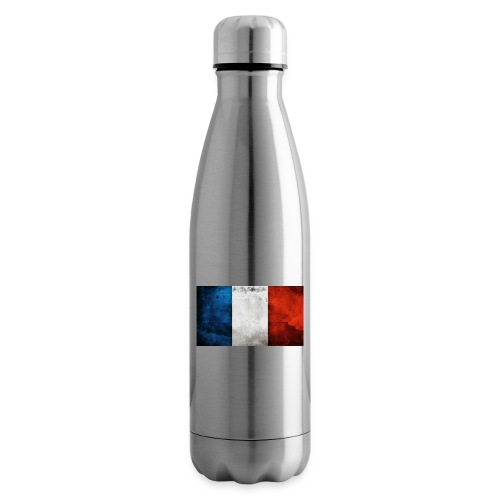 France Flag - Insulated Water Bottle