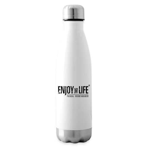 Enjoy this Life®-Classic Black Pascal Voggenhuber - Isolierflasche