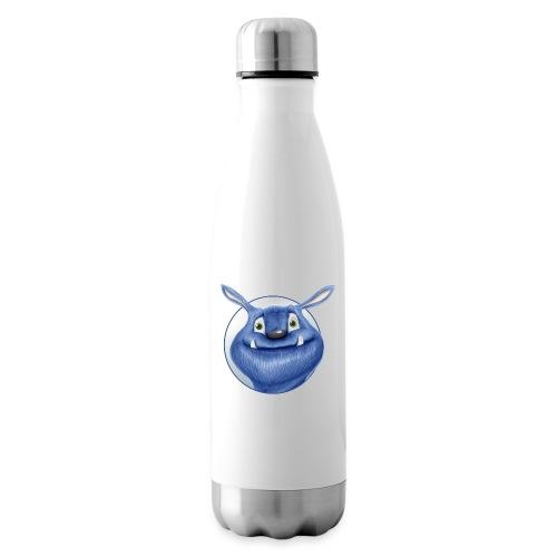 blaues Monster - Isolierflasche
