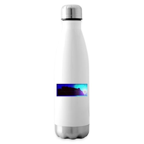 Silhouette of Edinburgh Castle - Insulated Water Bottle
