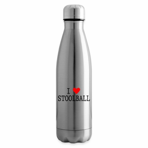 I Love Stoolball - Insulated Water Bottle