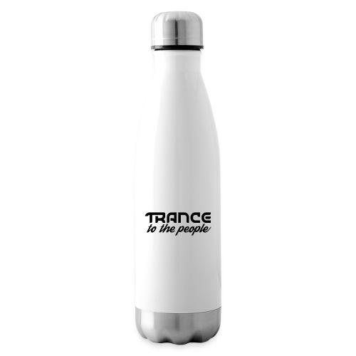 Trance to the People Sort Logo - Termoflaske