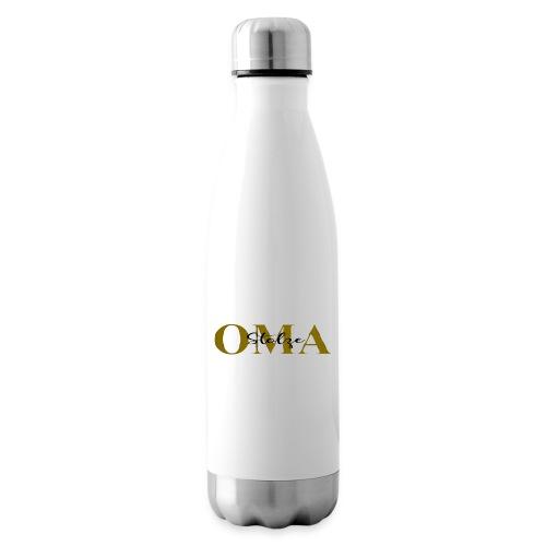 Stolze Oma Geschenk Muttertag - Isolierflasche