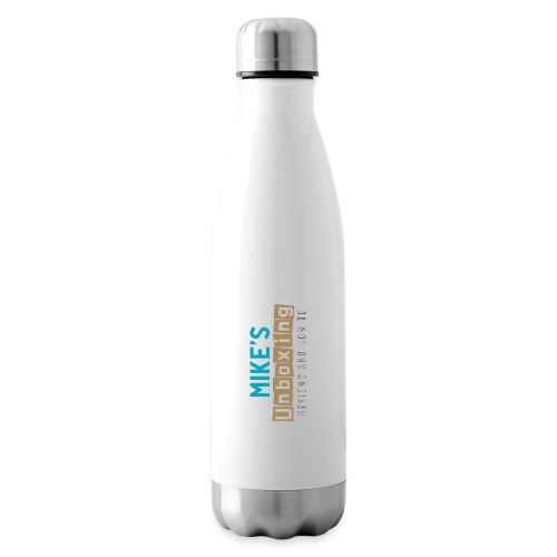 Mikesunboxing Classic Logo - Insulated Water Bottle