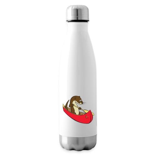 redcanoewithsticker - Insulated Water Bottle