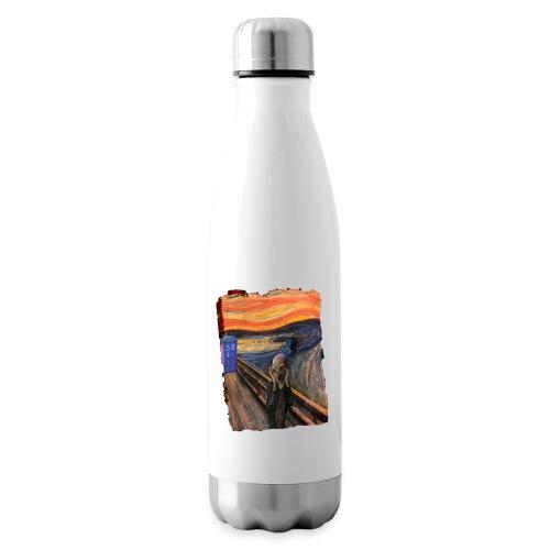 Screaming Tardis - Insulated Water Bottle