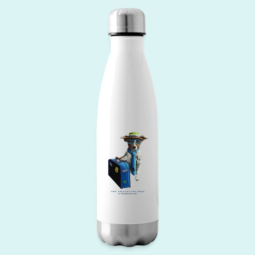 The Traveling Dog - Insulated Water Bottle
