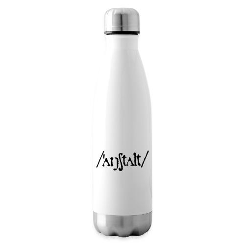 /'angstalt/ logo - Isolierflasche