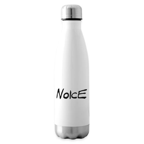 Noice - Black logo - Insulated Water Bottle