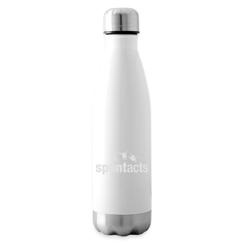 spontacts_Logo_weiss - Isolierflasche
