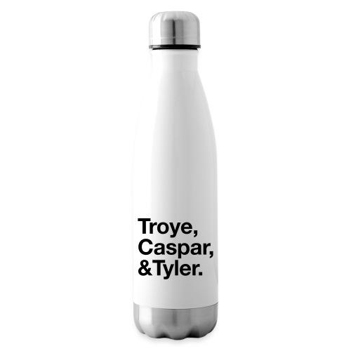 TROYE CASPAR AND TYLER - YOUTUBERS - Termica Bottiglia