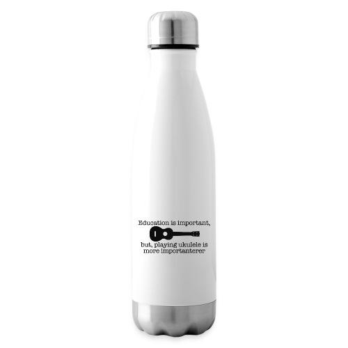 Important Ukulele - Insulated Water Bottle
