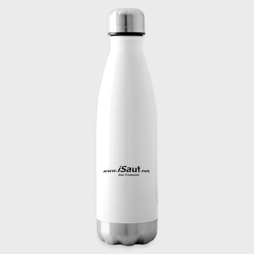 iSauf-Schriftzug - Isolierflasche