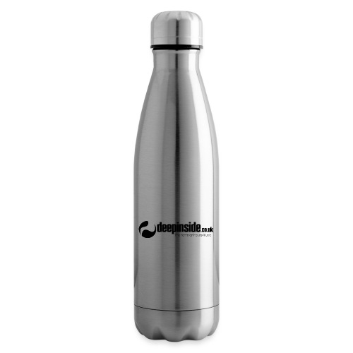 DEEPINSIDE The home of House-Music (Black) - Insulated Water Bottle