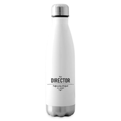 Bester Direktor - Handwerkskunst vom Feinsten, wie - Isolierflasche