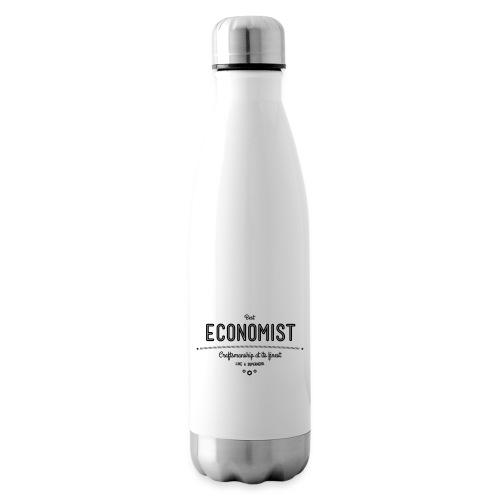 Bester Ökonom - wie ein Superheld - Isolierflasche