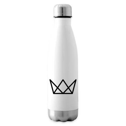 TKG Krone schwarz CMYK - Isolierflasche
