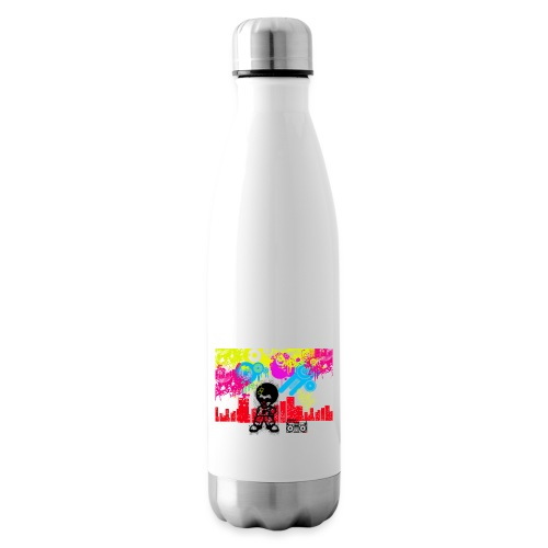 Felpa Uomo Vintage Dancefloor Anni Ottanta - Termica Bottiglia