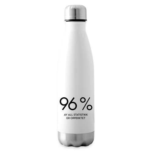 Statistikk-sprøyt (fra Det norske plagg) - Isolert flaske