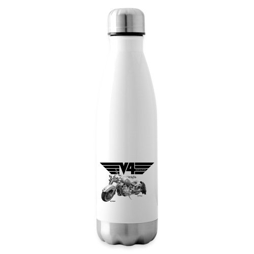 V4 Motorcycles black Wings - Isolierflasche