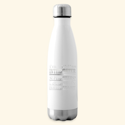 INTERPRETER - Termica Bottiglia