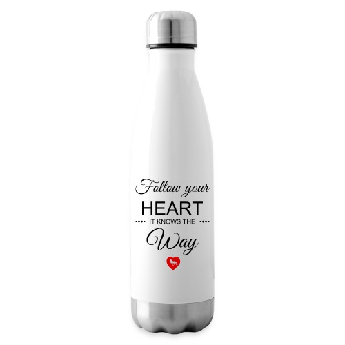 follow your heartbesser - Isolierflasche
