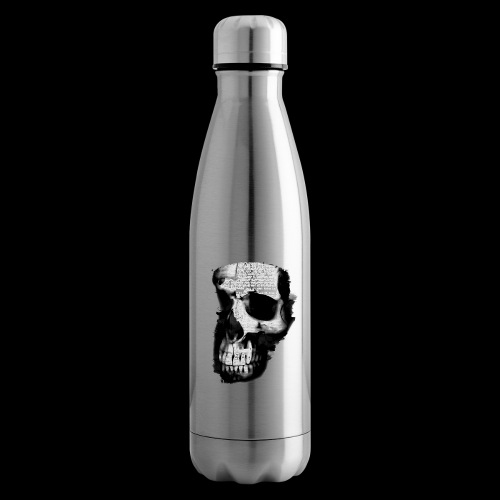 teschio darktrasp - Termica Bottiglia