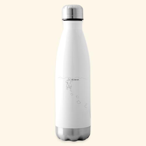 Schafbock: Null Bock auf - schwarz - Isolierflasche