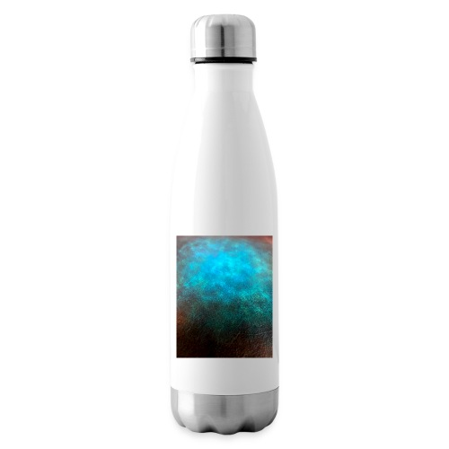 Dyeing leather print design - Insulated Water Bottle