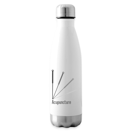 Acupuncture Eventail (logo noir) - Bouteille isotherme