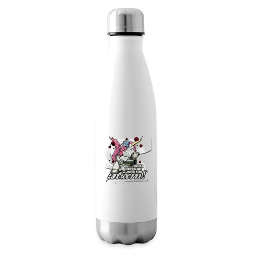 Don't mess up with the unicorn - Isolierflasche