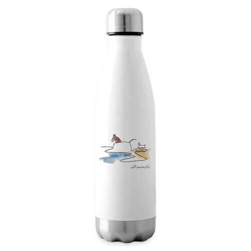 Blåvand 3 - logo - Termoflaske