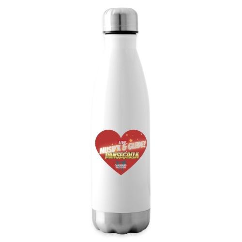 Musikk & Glede Hjertemotiv - Isolert flaske