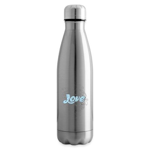 LOVE CON DECORI - Termica Bottiglia