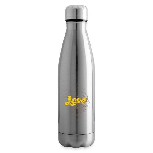 Scritta Love con decorazione - Termica Bottiglia