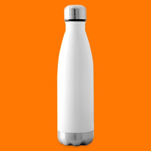 SCP-sign-WHITE transp - Insulated Water Bottle