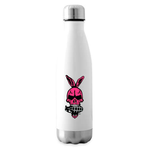 tete mort oreille lapin skull grenade 1 - Bouteille isotherme