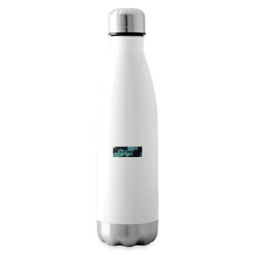 Extinct box logo - Insulated Water Bottle