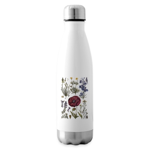 Wild flowers - Insulated Water Bottle