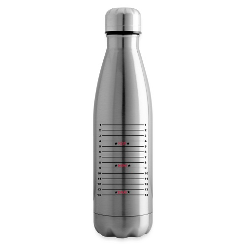 Yes Wow Diva Length Check T-Shirt - Insulated Water Bottle
