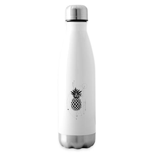 Kleiner Designer Ananas - Isolierflasche