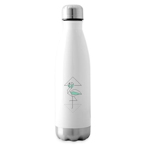 Kleiner Designer Flamingo - Isolierflasche