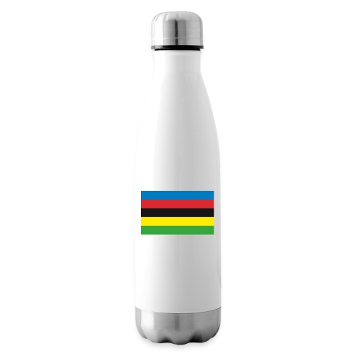 Cycling_World_Champion_Rainbow_Stripes-png - Thermosfles