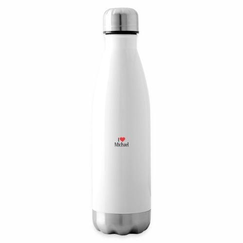 Michael designstyle i love Michael - Insulated Water Bottle