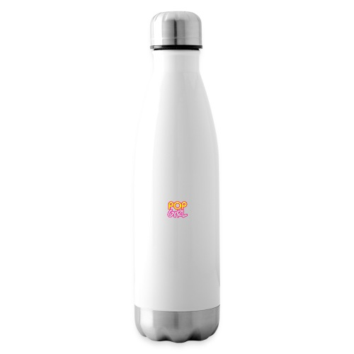 Pop Girl logo - Insulated Water Bottle