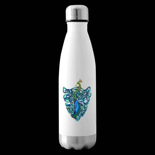Peacock - Insulated Water Bottle