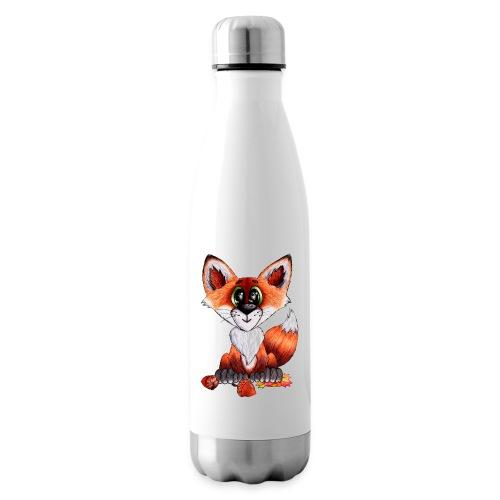 llwynogyn - a little red fox - Isolierflasche